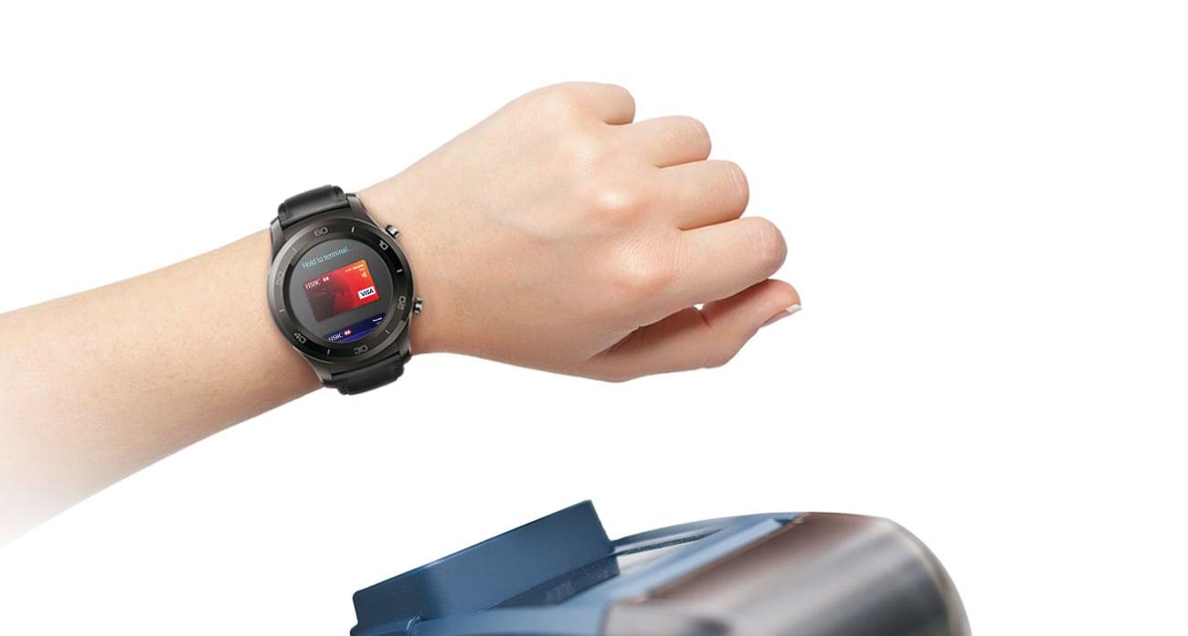 Huawei Watch 2 Sport LTE płatności zbliżeniowy NFC