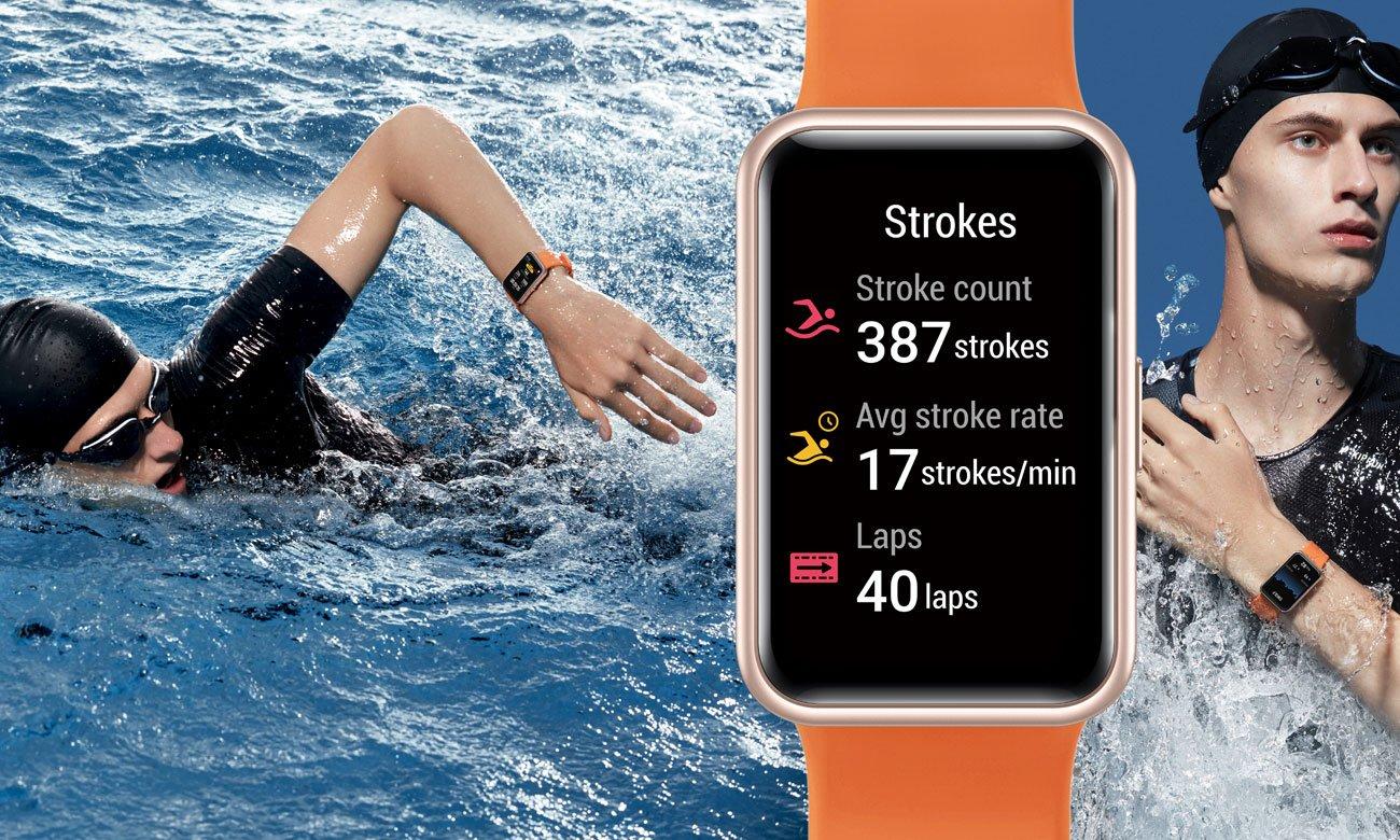 Monitorowanie pływania