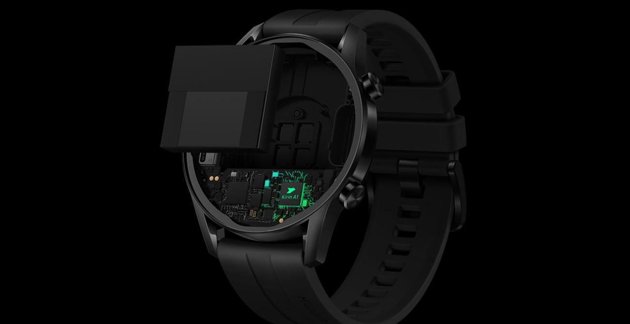 Huawei Watch GT 2 Sport procesor kirin A1 z NPU AI
