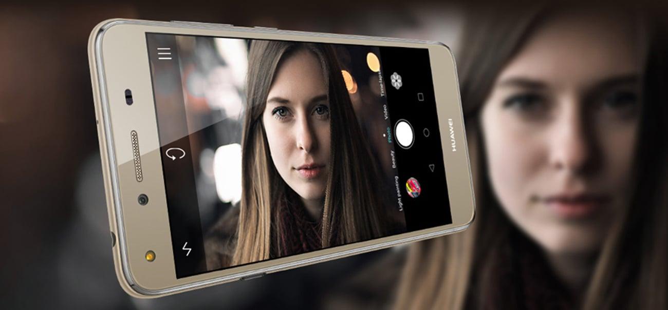 biały Huawei Y5 II Dual SIM LTE kamera 8 mpix przesłona f/2.0