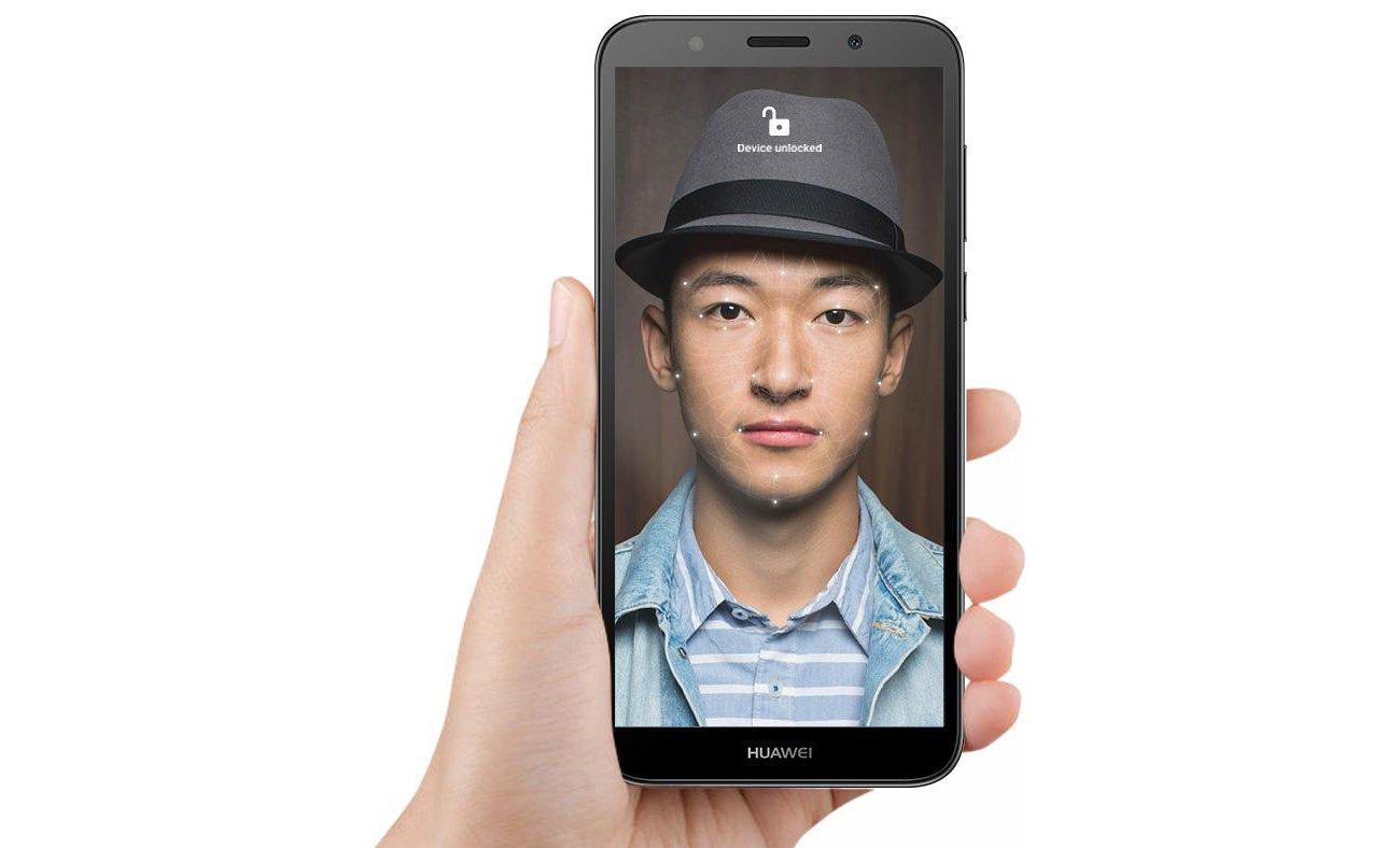 HUAWEI Y5 2018 odblokowanie face unlock
