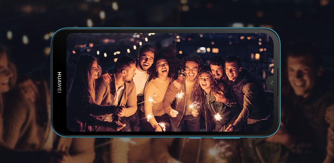 HUAWEI Y5 2019 jasne ujęcia rozpoznawanie twarzy