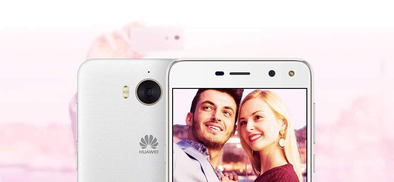 Huawei Y6 2017 aparat 13 Mpix f/2.0
