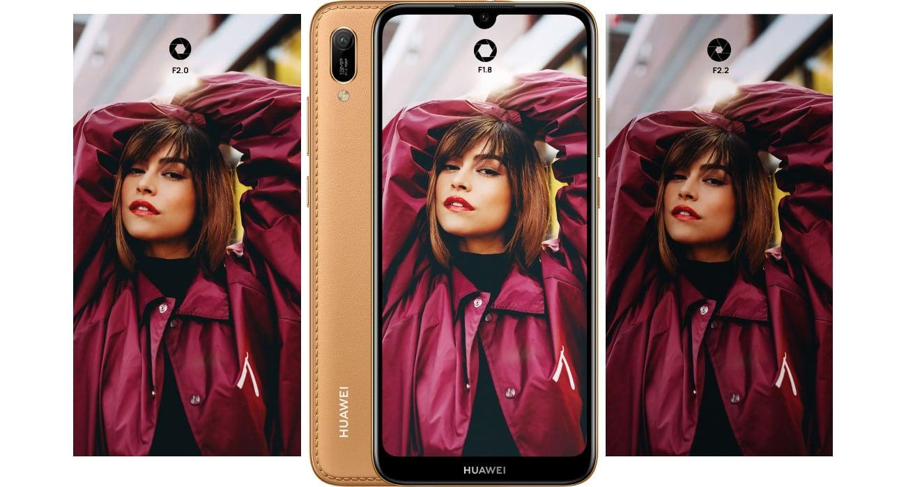 HUAWEI Y6 2019 mistrzowskie selfie i aparat główny 13 Mpix