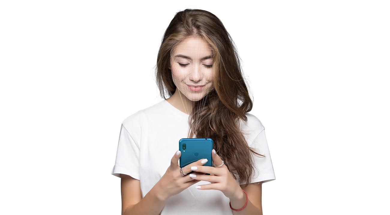HUAWEI Y6 2019 face unlock czytnik linii papilarnych