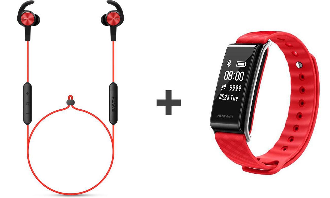 Huawei AM61 Sport Bluetooth + Huawei Band A2