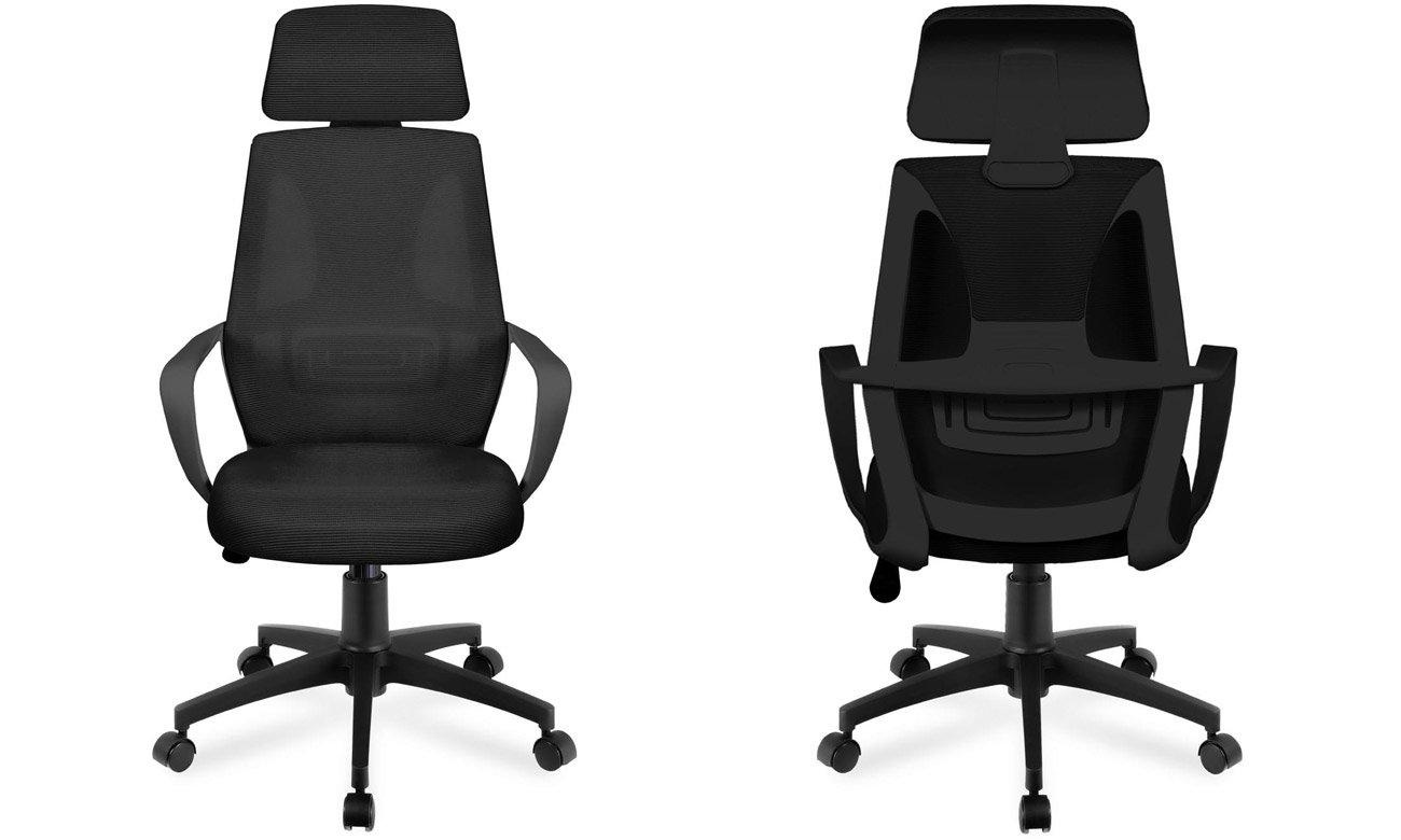 Fotel biurowy Huzaro Mark Adler Manager 2.8 Black
