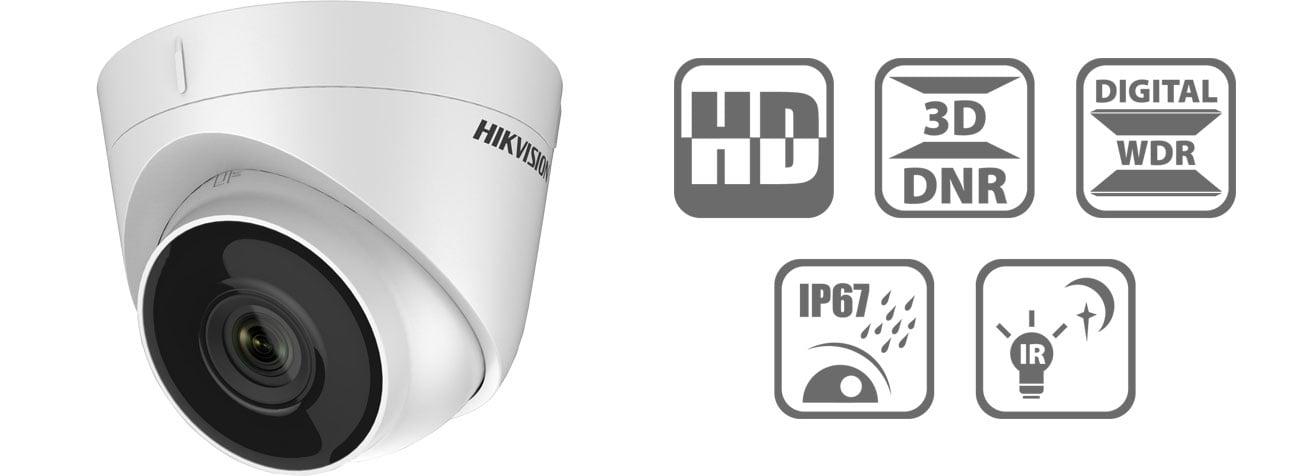 Kamera IP Hikvision DS-2CD1321-I 2.8mm 2MP/IR30/IP67/12V/PoE