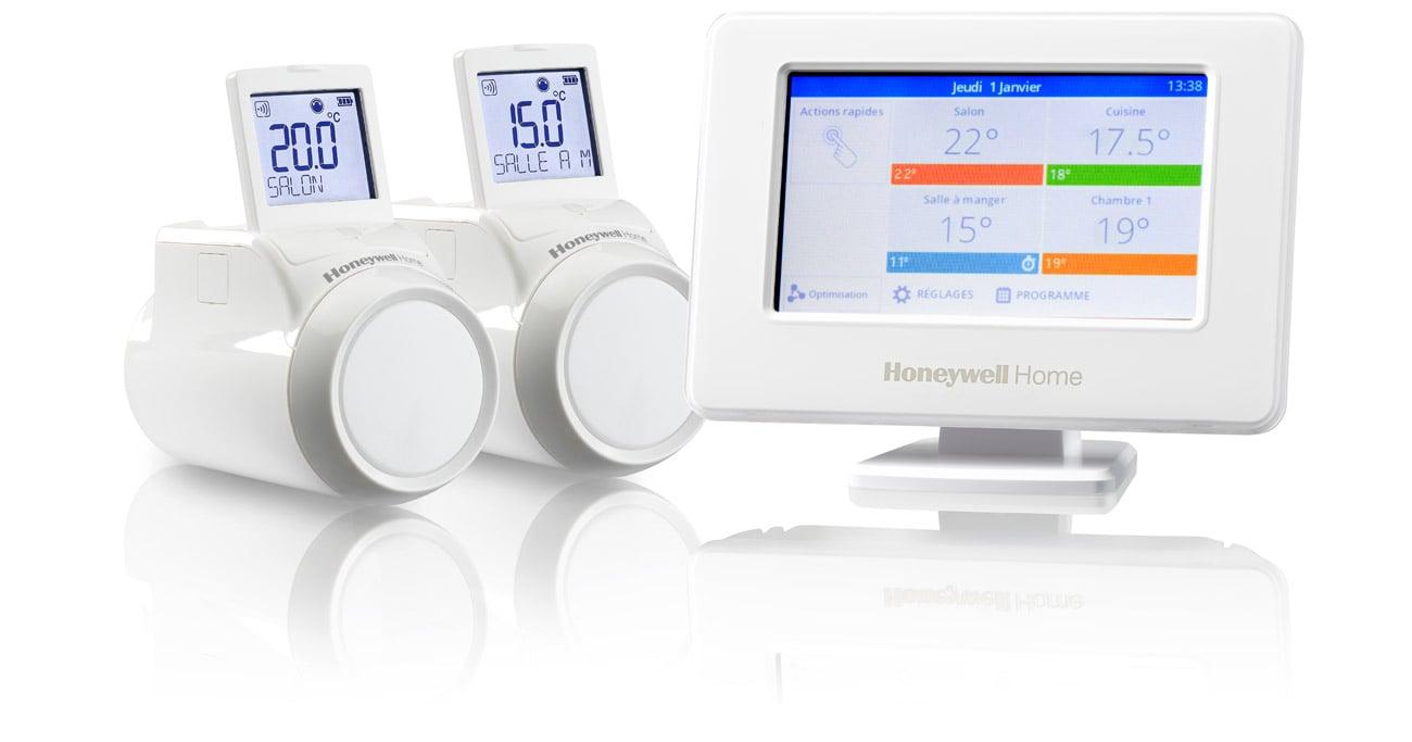 Sterownik ogrzewania Honeywell Evohome + 2 Regulatory