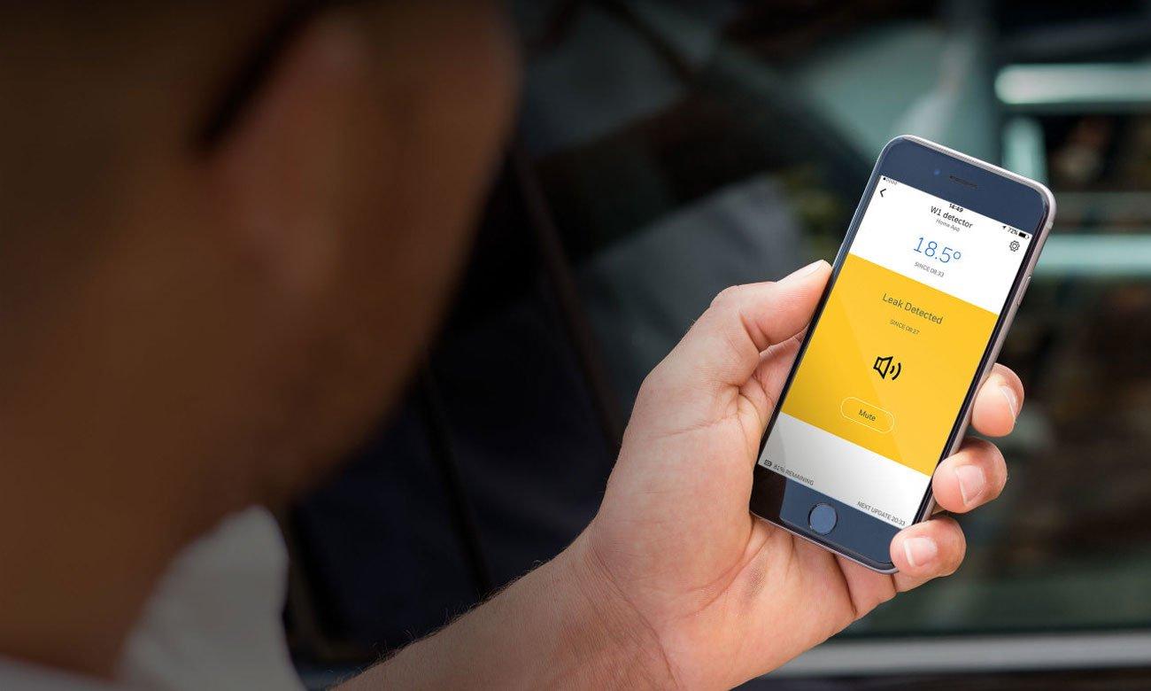 Honeywell W1KE Aplikacja mobilna