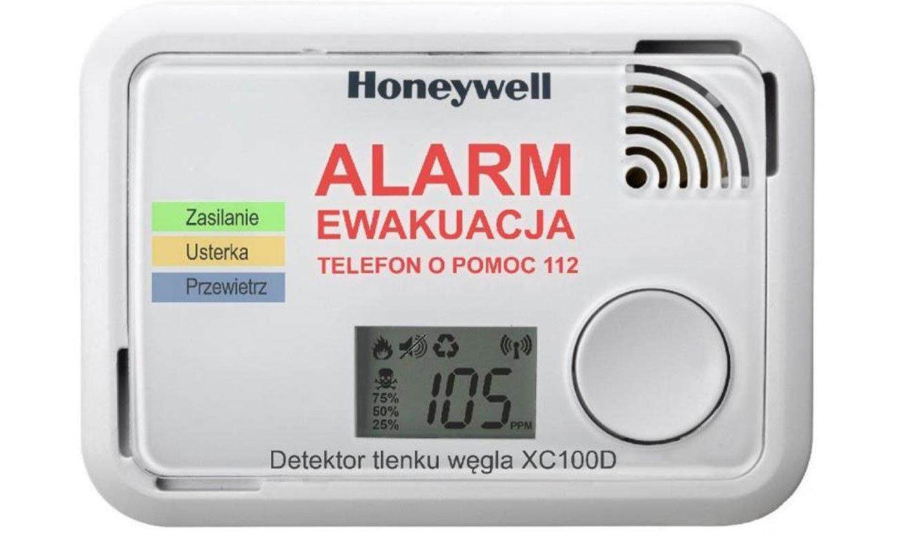 Czujnik tlenku węgla Honeywell XC100D-PL-A