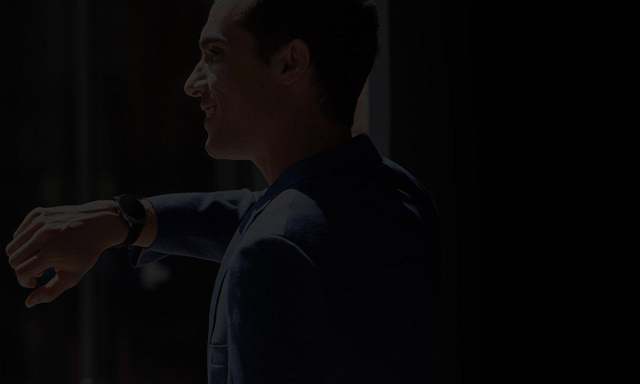 Odbiera połączeń głosowych z Huami Amazfit GTR2 czarny