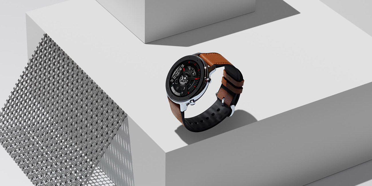Huami Amazfit GTR 47mm elegancki wodoodporny zegarek sportowy