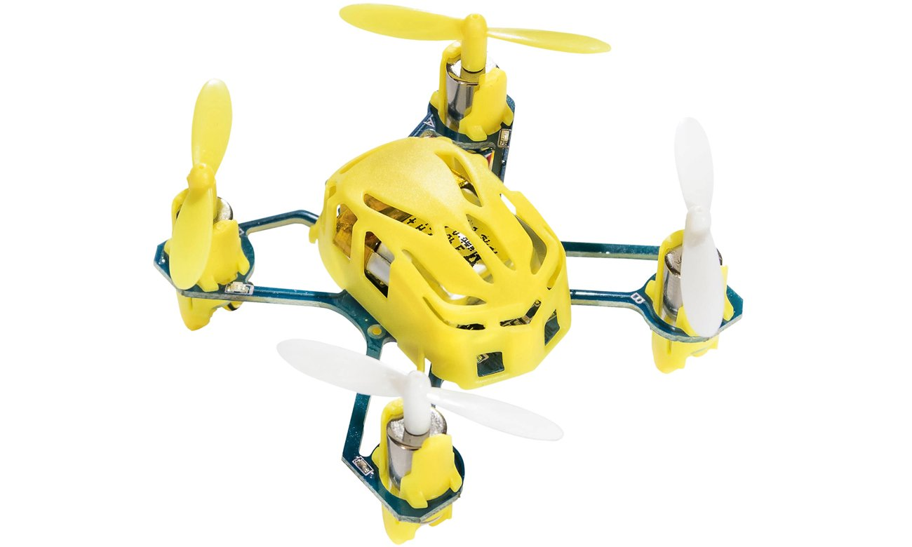 Dron Hubsan Q4 Nano H111 żółty