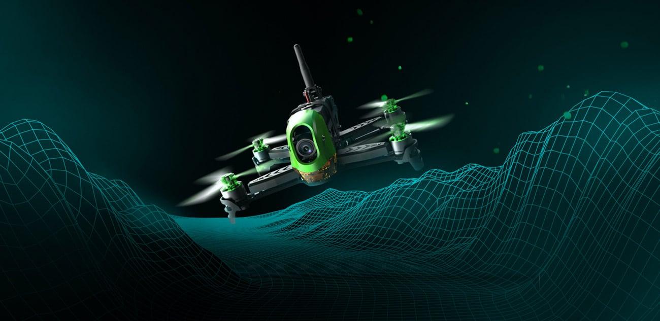 Dron wyścigowy Hubsan H123D RTF