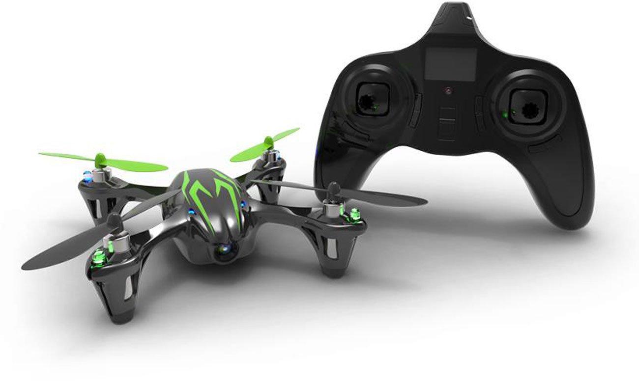 Dron Hubsan X4 H107C czarno-zielony