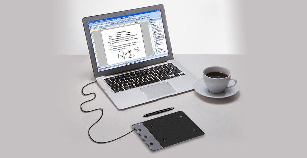 Huion H420 - Podłączenie tabletu