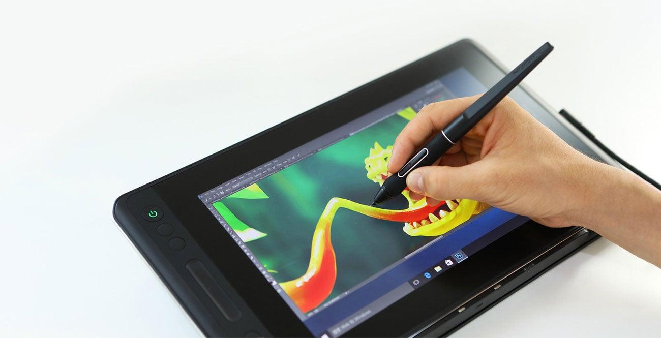 Huion Kamvas Pro 12 - Rysowanie na tablecie