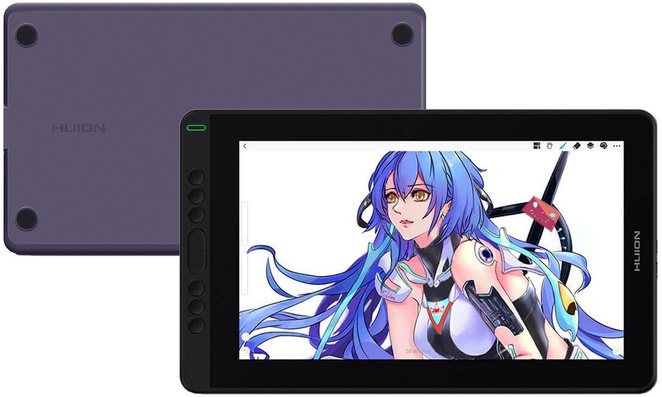 Tablet graficzny Huion Kamvas 13 Fioletowy