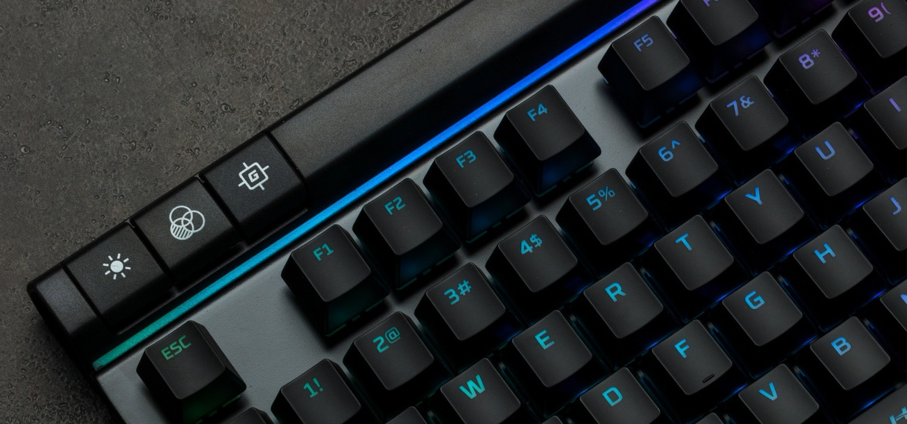 HyperX Alloy Elite podświetlenie