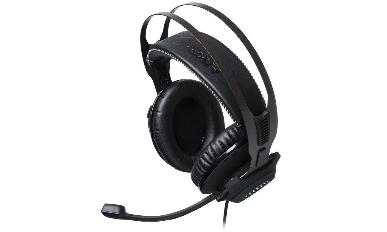 Słuchawki HyperX Cloud Revolver S Headset Czarne Przetworniki
