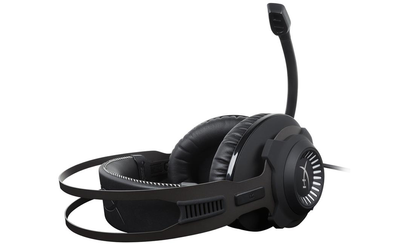 Słuchawki HyperX Cloud Revolver S Headset Czarne Mikrofon