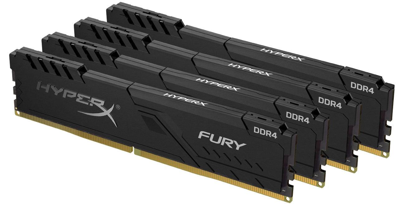 Pamięć RAM DDR4 HyperX 16GB 2400MHz Fury CL15 (4x4GB) HX424C15FB3K4/16
