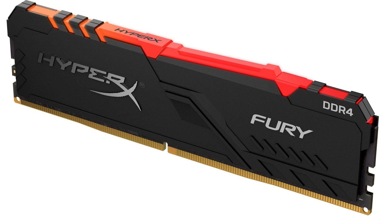 Pamięć RAM DDR4 HyperX 8GB 2666MHz Fury RGB CL16 HX426C16FB3A/8