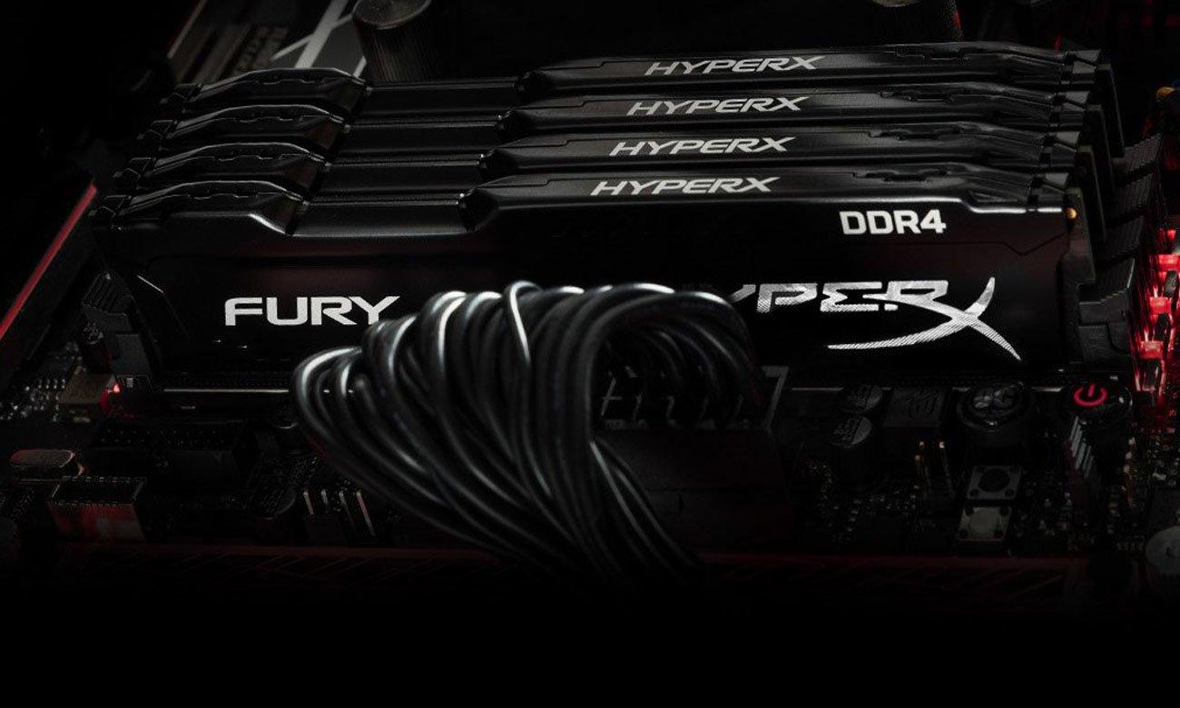 HyperX FURY DDR4 Automatyczne przetaktowanie
