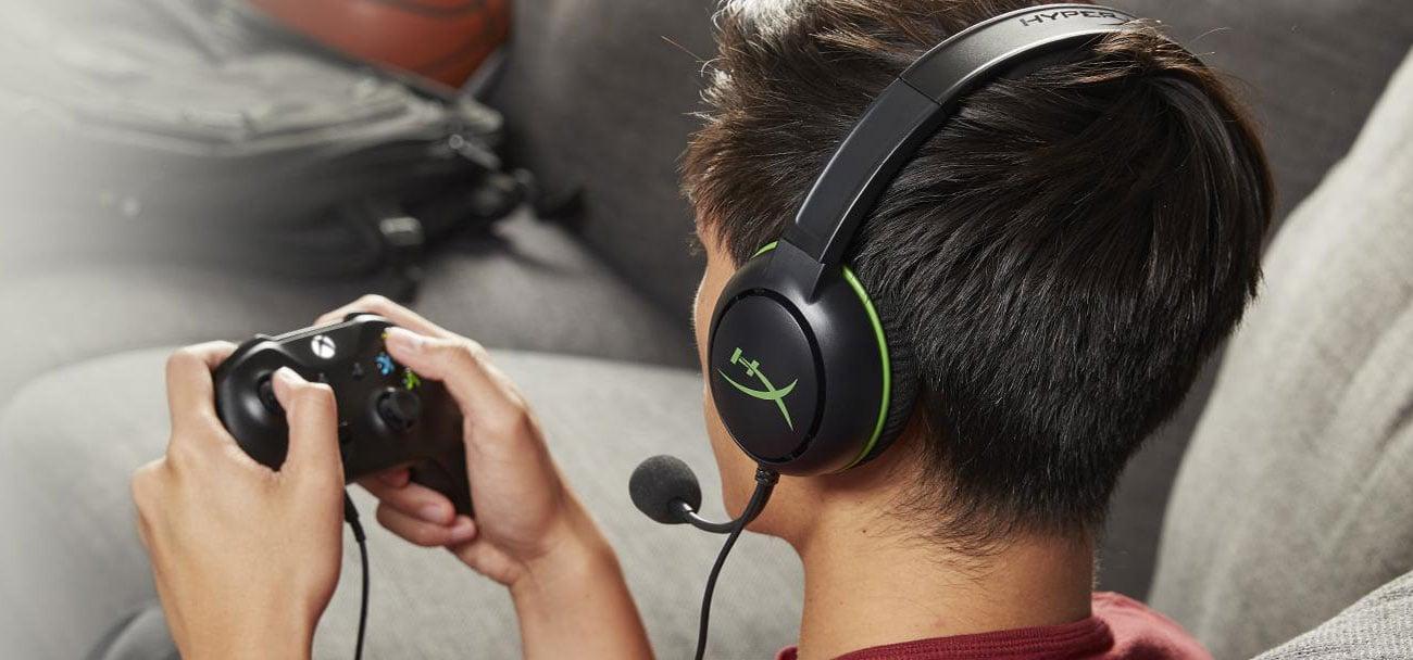 Słuchawki przewodowe HyperX Cloud Chat for Xbox HX-HSCCHX-BK/WW