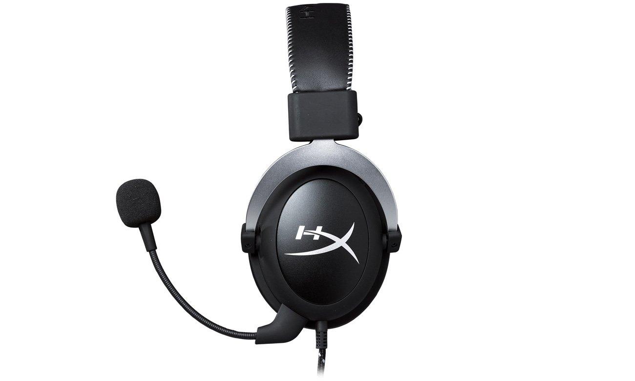 hyperx cloud silver headset srebrne s uchawki przewodowe sklep internetowy. Black Bedroom Furniture Sets. Home Design Ideas