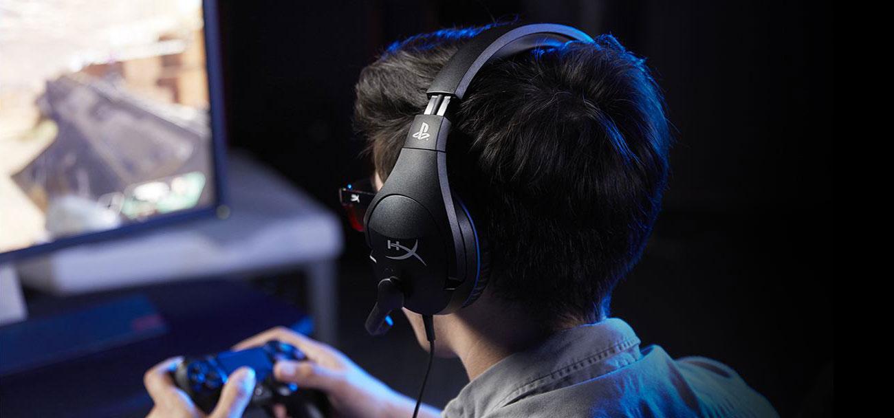 Słuchawki przewodowe HyperX Cloud Stinger for PS4 HX-HSCSS-BK/EM