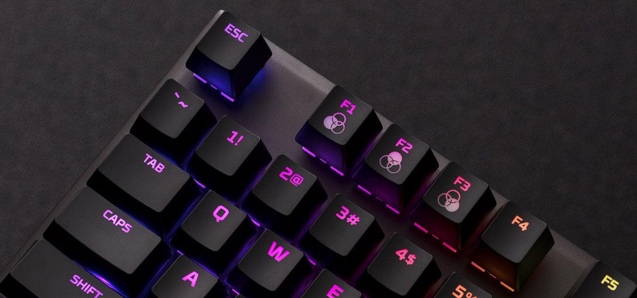 HyperX Alloy FPS RGB podswietlenie