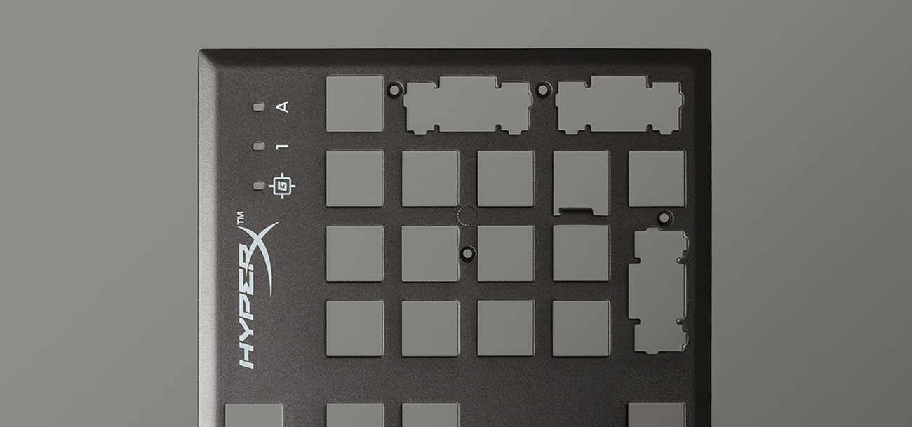 HyperX Alloy FPS RGB metalowa obudowa