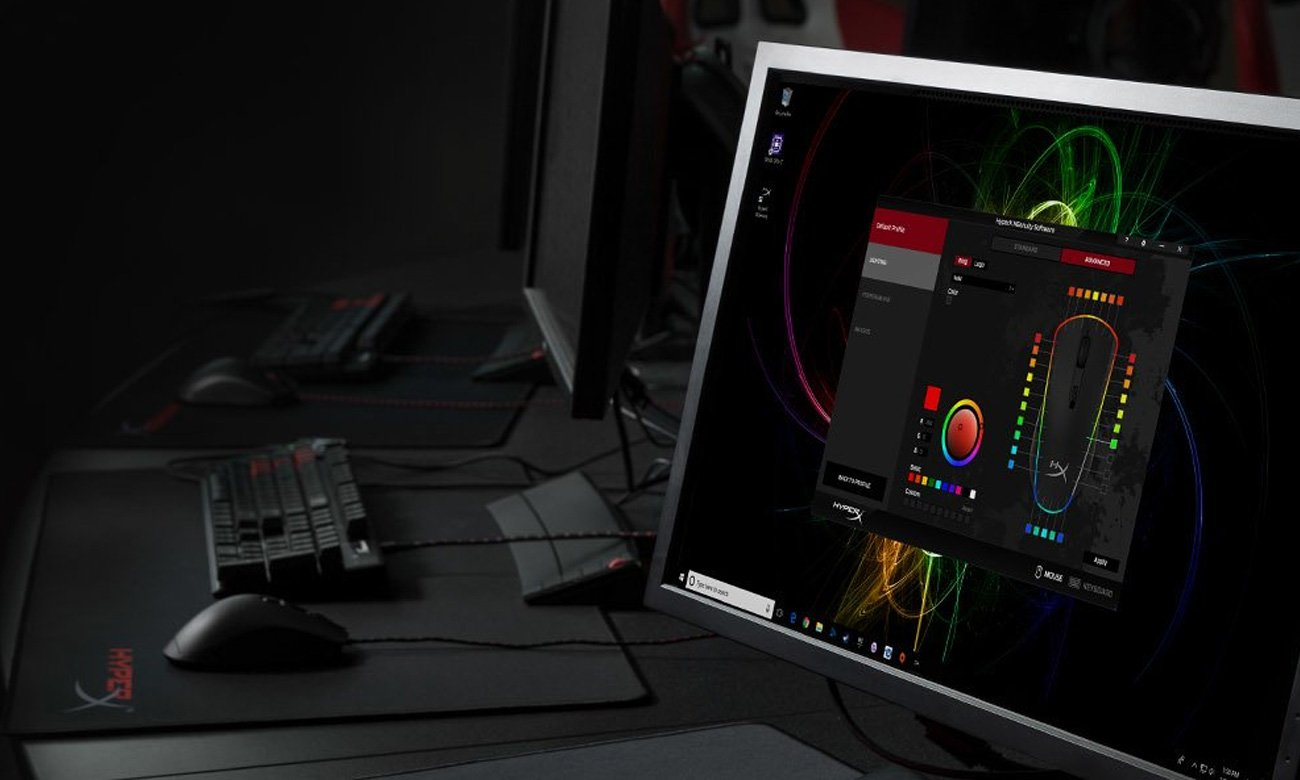 HyperX Pulsefire Surge Oprogramowanie