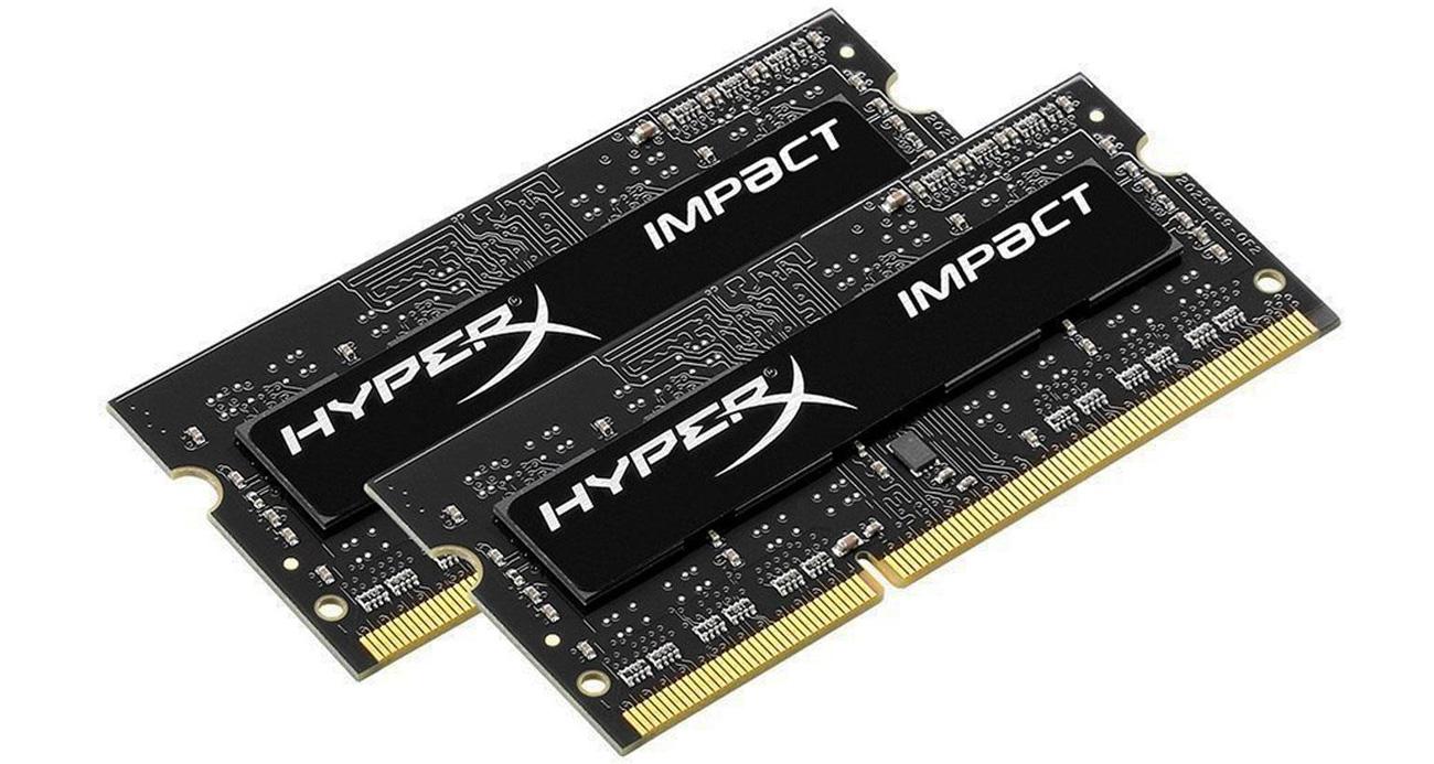DDR3 HyperX 8GB (2x4GB) 1600MHz