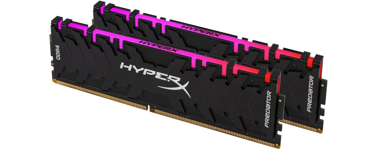 Pamięć RAM DDR4 HyperX 16GB 3200MHz Predator RGB CL16 (2x8GB) HX432C16PB3AK2/16