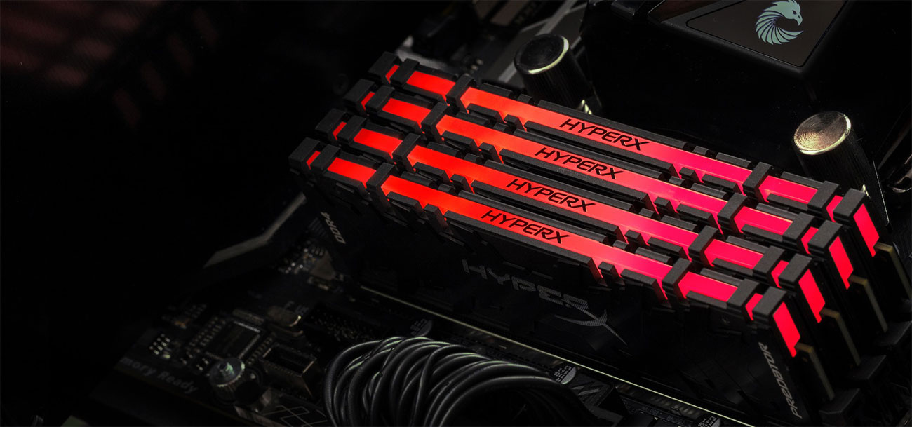 HyperX Predator RGB Podświetlenie