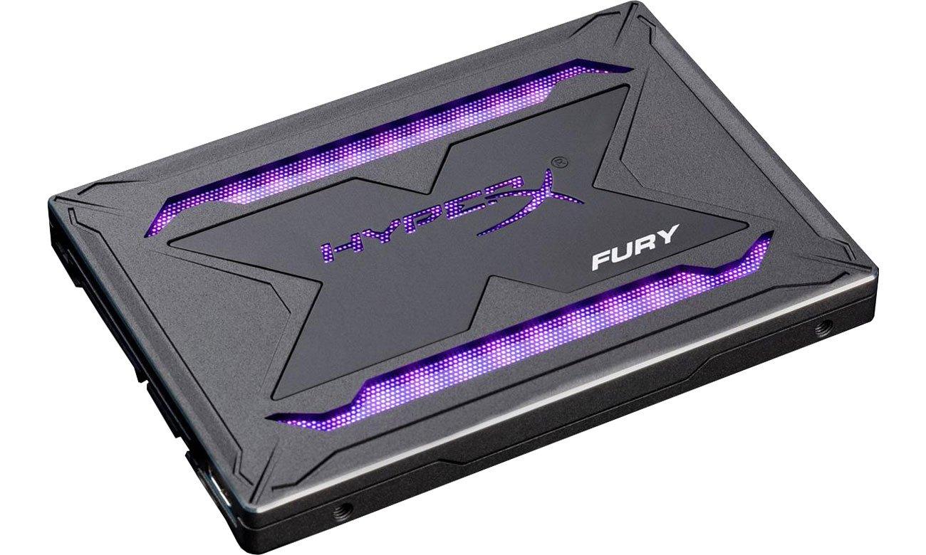 Dysk SSD HyperX 240GB 2,5'' SATA SSD Fury SHFR RGB SHFR200/240G