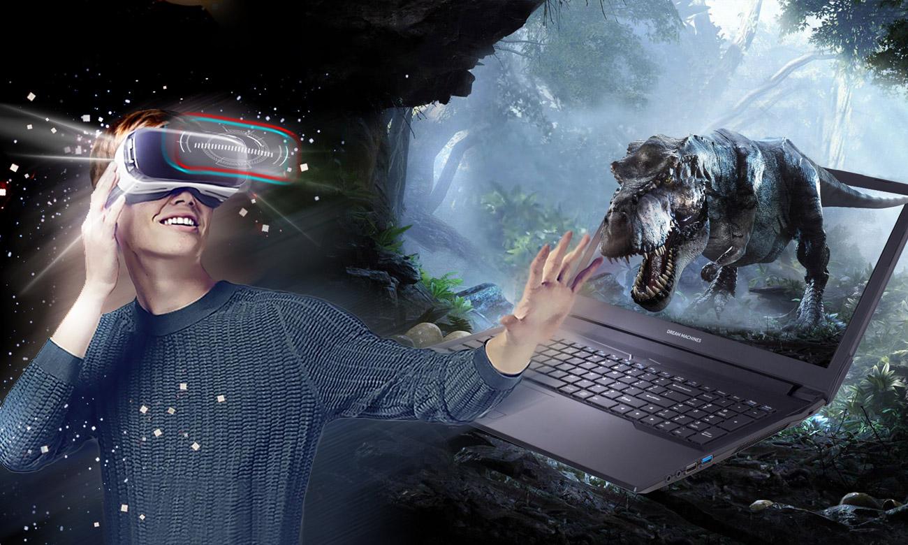 Dream Machines GS1060-17PL31 Płynna rozgrywka VR