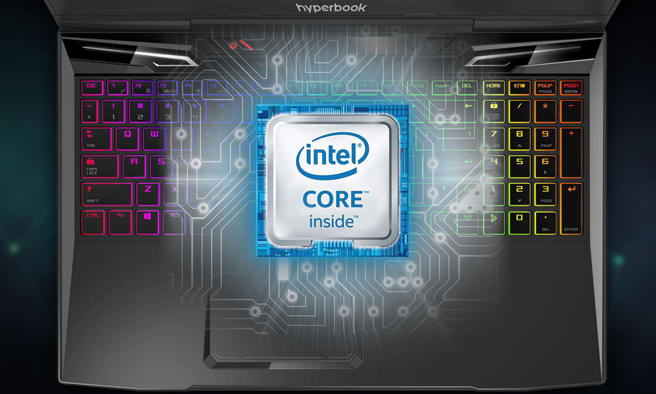 Hyperbook MK55 PULSAR procesor Intel Core i7-7700HQ