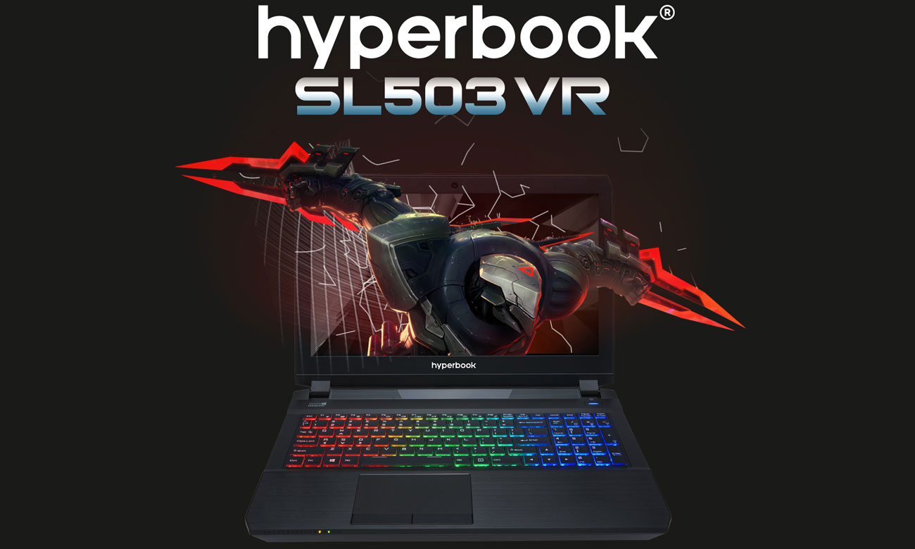 Hyperbook SL503 VR Nowy wymiar wydajności i mobilności