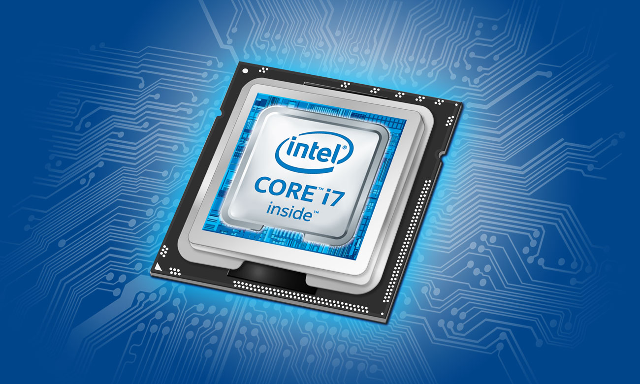 Hyperbook SL503 VR Procesor Intel Core i7 siódmej generacji