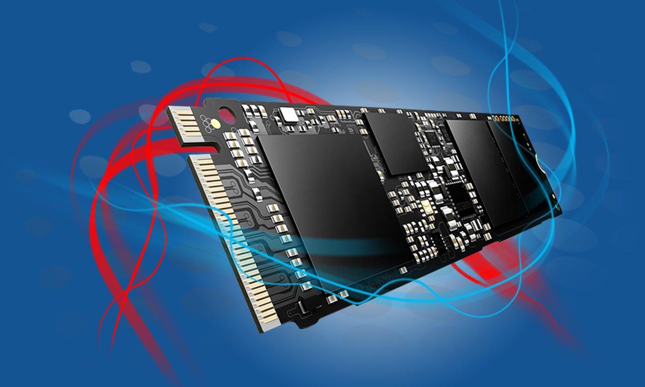 Hyperbook SL503 VR Możliwość instalacji do czterech dysków