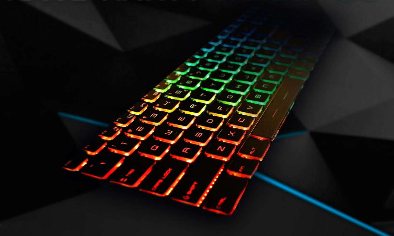Hyperbook SL503 VR Podświetlana klawiatura