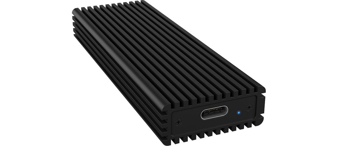 ICY BOX Obudowa do dysku M.2 NVMe (USB-C, M-Key)