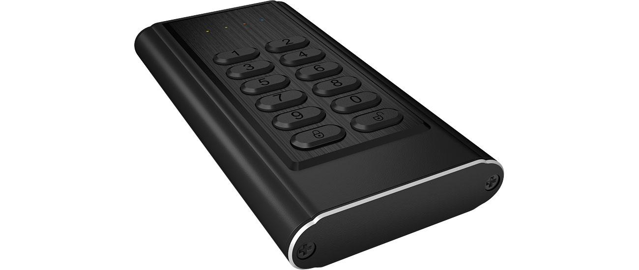 ICY BOX Obudowa do dysku M.2 SATA (USB 3.0, szyfrowana)