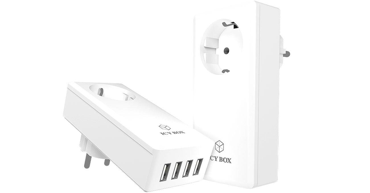 Ładowarka sieciowa ICY BOX IB-CH404 5A