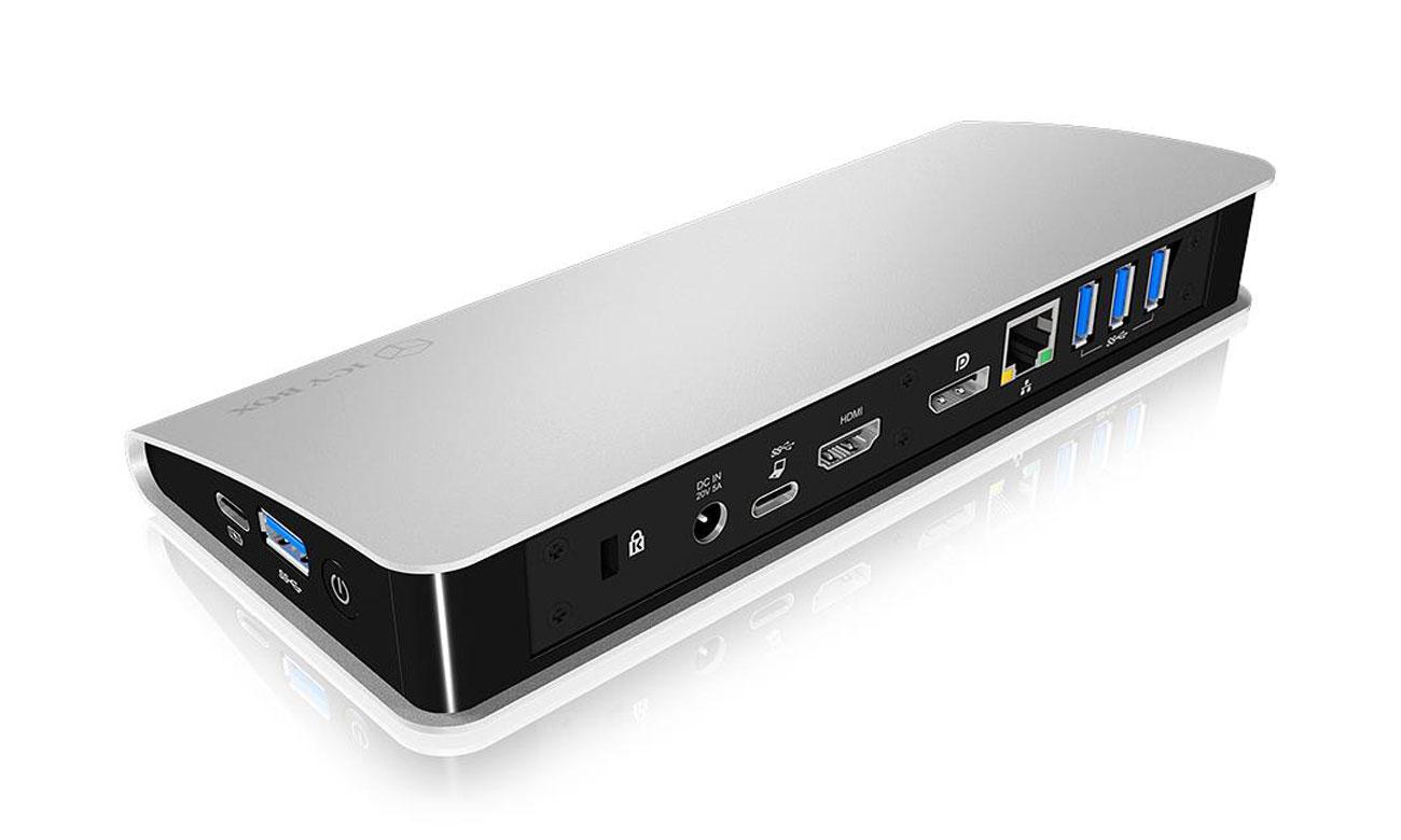 Stacja ICY BOX złącza USB RJ HDMI