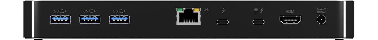 ICY BOX IB-DK2501-TB3 Tył